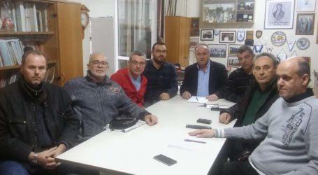 Συνάντηση Ε.Γ. Ν.Τ.ΑΔΕΔΥ Λάρισας με το Δ.Σ. του Συλλόγου Οπτικών και Οπτομετρών Θεσσαλίας