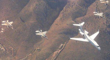 Λάρισα: Εντυπωσιακές εικόνες από τη συνεκπαίδευση αεροπορικών δυνάμεων Ελλάδας – Ισραήλ (φωτο)