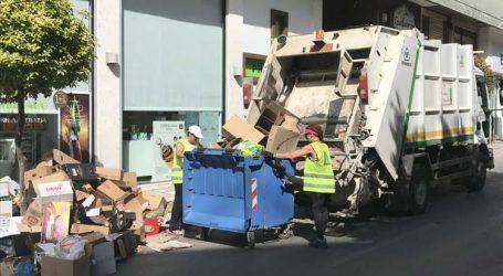 Χωρίς αποκκομμιδή σκουπιδιών το πρωί στη Λάρισα – Κλειστό λόγω πένθους το αμαξοστάσιο του δήμου
