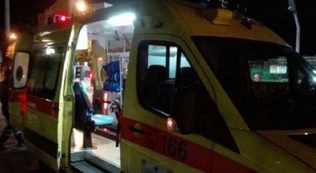 Τροχαίο με νεαρό τραυματία στην οδό Βόλου στη Λάρισα