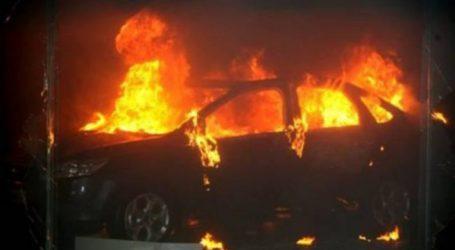Φωτιά σε ΙΧ κοντά στην Εγνατία Οδό