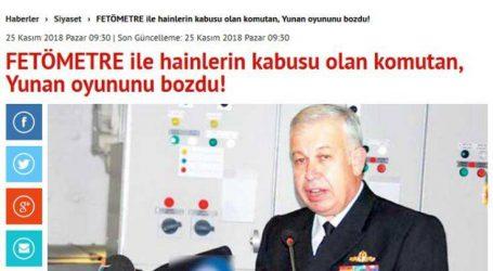 «Εξαφανίζει» το Καστελόριζο και ο τούρκος αντιναύαρχος Γιαϊτζί
