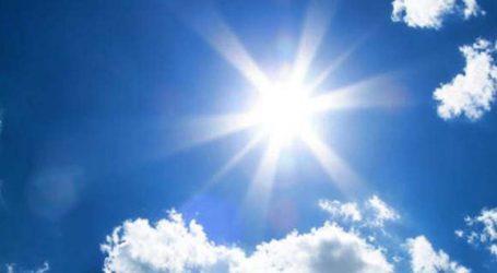 Αίθριος ο καιρός σήμερα στη Λάρισα
