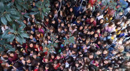 Γιατί αυτός ο «πανικός» στο κέντρο της Λάρισας το απόγευμα της Κυριακής; (φωτό)