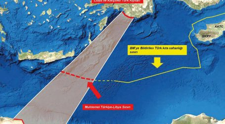 Οι χάρτες που παρουσίασε ο Ακάρ στη Λιβύη και βάζει «στόχο» την Ελλάδα
