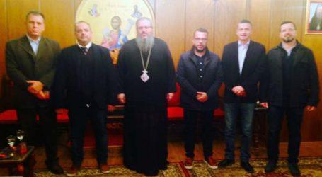 Επίσκεψη κλιμακίου ΤΕΕ Κεντροδυτικής Θεσσαλίας στον Σεβασμιότατο Μητροπολίτη Λάρισας