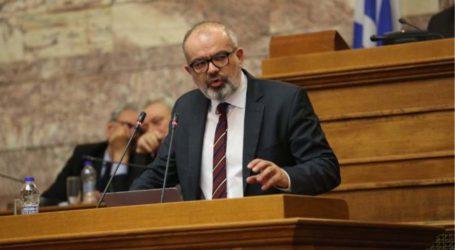 Εκδήλωση Μπαργιώτα για τις τρέχουσες πολιτικές εξελίξεις αύριο Παρασκευή στο Χατζηγιάννειο