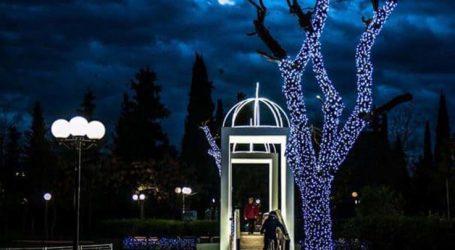 Άναψαν τα φώτα στο Πάρκο των Ευχών – Μαγευτικές εικόνες
