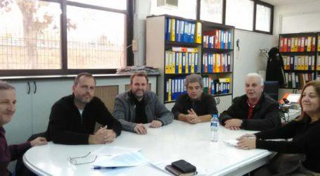 Συνάντηση στελεχών του Ποταμιού με το Προεδρείο του Εθνικού Αθλητικού Κέντρου Λάρισας (ΕΑΚΛ)