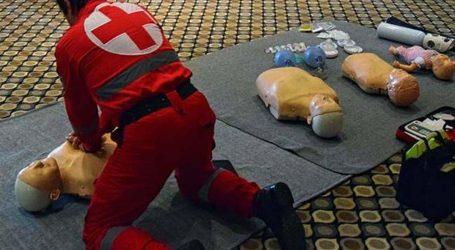 Μαθήματα πρώτων βοηθειών από τον Ελληνικό Ερυθρό Σταυρό