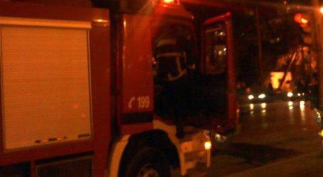 Φωτιά σε σπίτι στη Λάρισα τη νύχτα του Σαββάτου