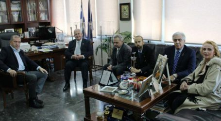 Τον Διοικητή της 2484 Περιφέρειας Διεθνούς Rotary συνάντησε ο Πρόεδρος του Περιφερειακού Συμβουλίου