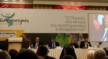 Πρόεδρος ΤΕΕ Κ.Δ. Θεσσαλίας στο συνέδριο για τον Πηνειό: «Η Λάρισα απέτυχε σε αυτόν τον τομέα, γύρισε την πλάτη της στο ποτάμι»