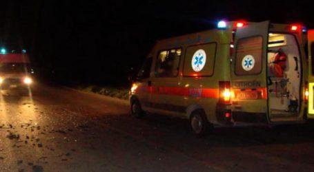 Εννέα τραυματίες σε τροχαίο λίγο έξω από τη Λάρισα – Μία 36χρονη γυναίκα σε σοβαρή κατάσταση!