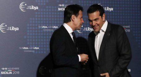 Στο Παλέρμο για τη Διεθνή Διάσκεψη για τη Λιβύη ο Αλέξης Τσίπρας