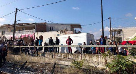 Κάτοικοι απέκλεισαν τη σιδηροδρομική γραμμή Αθήνας-Θεσσαλονίκης