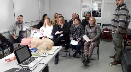 Εκπαιδευτικό σεμινάριο για το προσωπικό του ΕΚΑΒ στη Λάρισα
