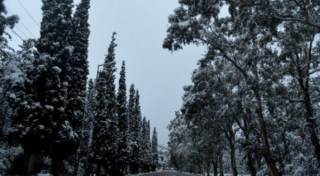 Καιρός με πιθανότητα χιονιά στην Πάρνηθα