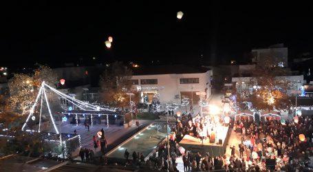 Έναρξη εορταστικών εκδηλώσεων στον Αλμυρό με το άναμμα του Χριστουγεννιάτικου Δέντρου