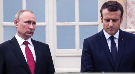 Ο Πούτιν ζωγράφισε στον Μακρόν την κρίση στην Ουκρανία