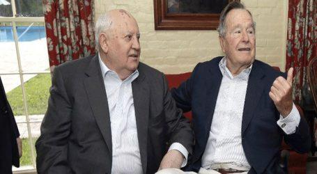 Ο Μ. Γκορμπατσόφ για τον προέδρον των ΗΠΑ, Τζορτζ Μπους
