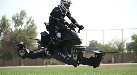 Ιπτάμενοι… αστυνομικοί στο Ντουμπάι με μηχανές που θυμίζουν Star Wars
