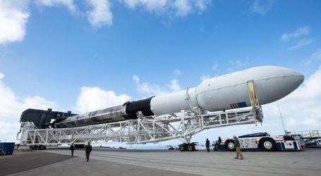 Η εκτόξευση του Falcon 9 αναβλήθηκε για αύριο