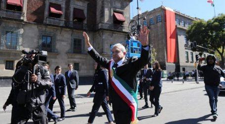 Ο νέος πρόεδρος του Μεξικού άνοιξε τις πύλες του προεδρικού μεγάρου στον λαό