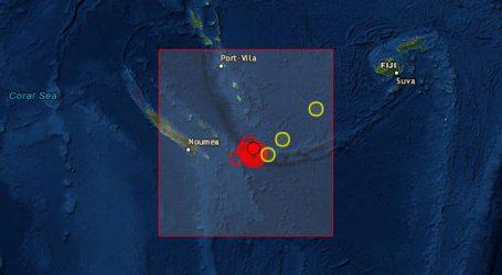 Νέος σεισμός 6,7R ανοικτά της Νέας Καληδονίας
