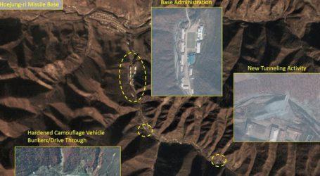 Ενδείξεις δραστηριότητας σε μια σημαντική πυραυλική βάση κατέγραψαν δορυφόροι στη Βόρεια Κορέα