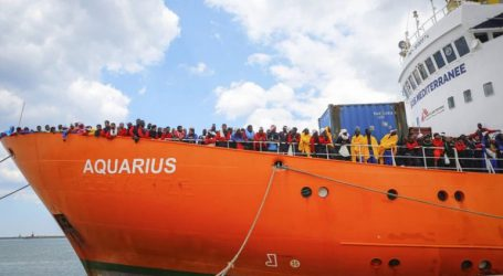 Σταματούν οι επιχειρήσεις διάσωσης μεταναστών από το πλοίο Aquarius