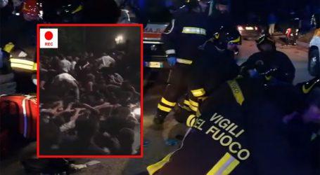 Το ντοκουμέντο από την τραγωδία στην Ιταλία όπου ποδοπατήθηκαν σε κλαμπ