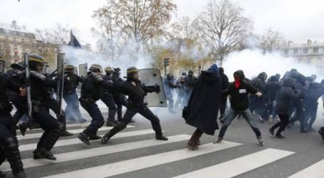 Συγκρούσεις μεταξύ διαδηλωτών-αστυνομικών στο Μπορντό
