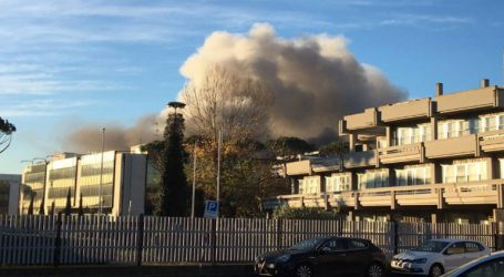 Πυρκαγιά σε κέντρο συλλογής και επεξεργασίας απορριμμάτων