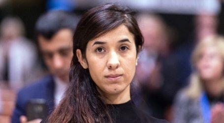 Η Νάντια Μουράντ θα διαθέσει τα χρήματα του Βραβείου Νόμπελ Ειρήνης για να οικοδομηθεί ένα νοσοκομείο