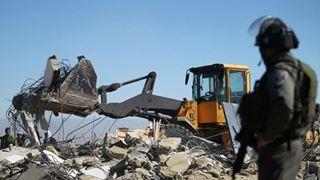 Ο στρατός του Ισραήλ κατεδάφισε το σπίτι Παλαιστίνιου