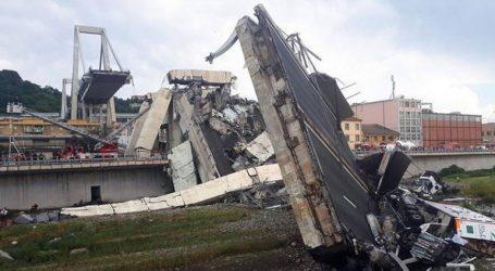 Ξεκινά η κατεδάφιση της γέφυρας Μοράντι στη Γένοβα