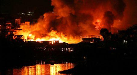 Βραζιλία: Πυρκαγιά στο Μανάους – 600 σπίτια κάηκαν