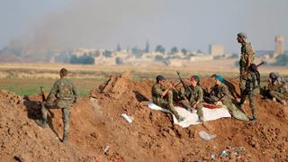 Οι Κούρδοι μαχητές ανατολικά του Ευφράτη θα θαφτούν στα χαρακώματά τους