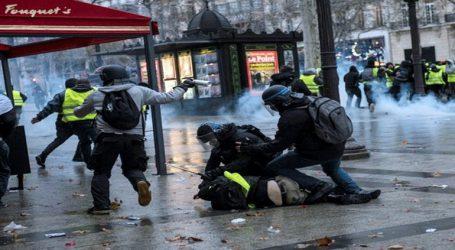 Στους 38.600 οι διαδηλωτές στους δρόμους της Γαλλίας-220 προσαγωγές σε ολόκληρη τη χώρα