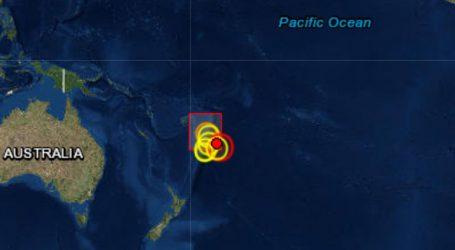 Σεισμός 6,4R στα νησιά Τόνγκα στον Ειρηνικό Ωκεανό