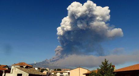 Εξερράγη το ηφαίστειο της Αίτνας