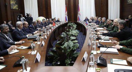 Θα συνεχίσουμε τη στενή συνεργασία μας με τη Ρωσία και το Ιράν για τη Συρία