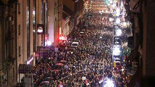 Διαδηλώσεις εναντίον του προέδρου Βούτσιτς στο Βελιγράδι