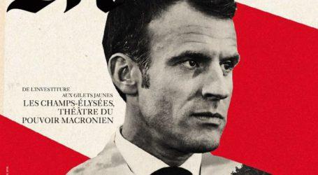 «Συγγνώμη» της Le Monde για το εξώφυλλο που παρουσιάζει τον Μακρόν ως Χίτλερ
