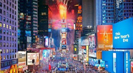 Έτοιμη η Τάιμς Σκουέρ να υποδεχτεί χιλιάδες τουρίστες και Νεοϋορκέζους για τους εορτασμούς της Πρωτοχρονιάς