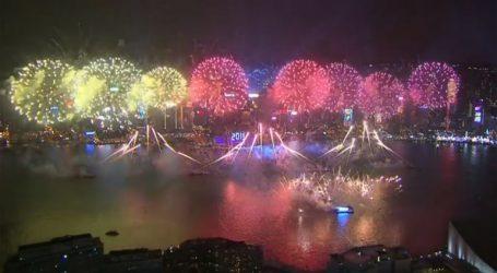 Εντυπωσιακή η Πρωτοχρονιά στο Χονγκ Κονγκ