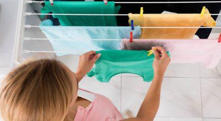 Γιατί δεν πρέπει να απλώνουμε τα ρούχα μέσα στο σπίτι μας;