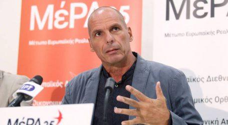 Έξαλλος ο Βαρουφάκης με δημοσιογράφο που τον διέκοψε