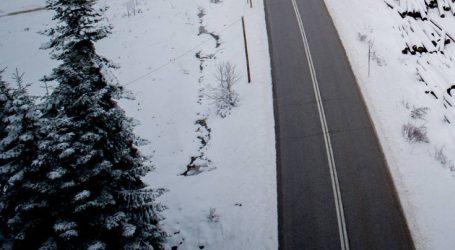Διακοπή κυκλοφορίας και αλυσίδες σε Αρκαδία, Μεσσηνία, Κορινθία